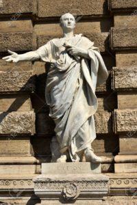 Cicero, Marmorstatue