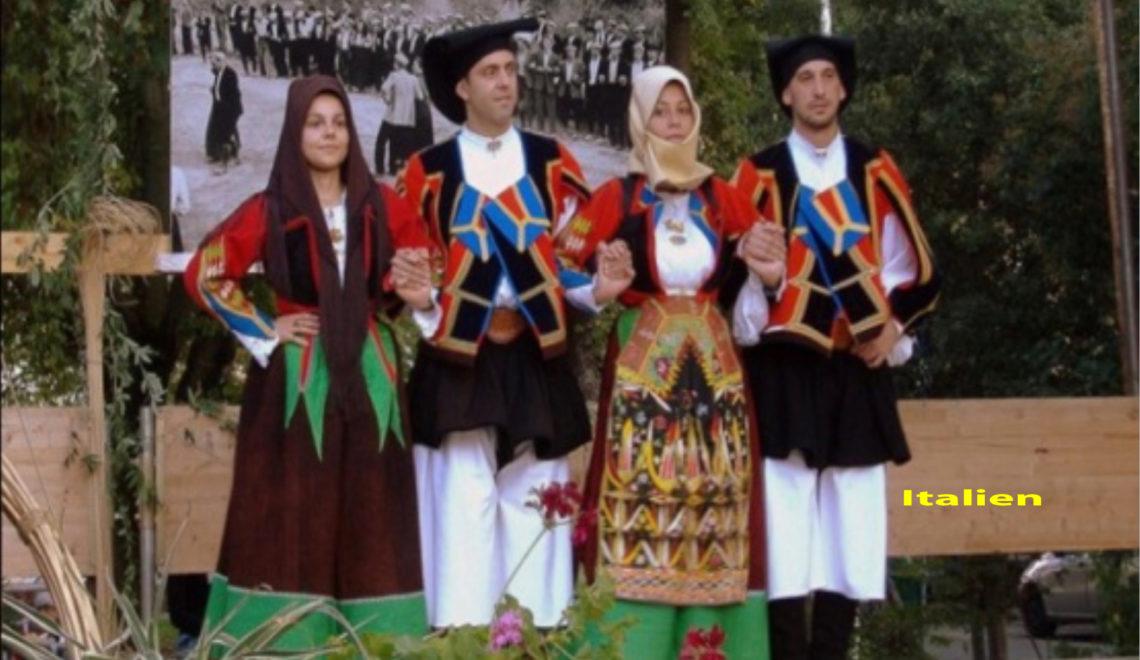 Vielfalt der Bekleidung: Nationaltrachten